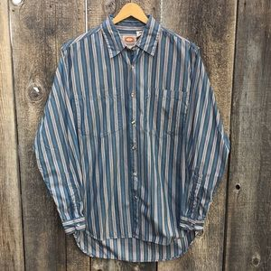VTG 80s Banana Republic Button Down Shirt, L
